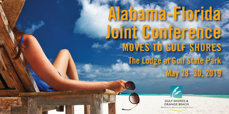 AL/FL Joint Technical Training Conference - Save the Date: May 28-30, 2019